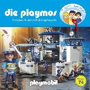 Cover-Bild zu Die Playmos, Folge 74: Falsches Spiel im Polizeigefängnis (Audio Download) von Fickel, Florian