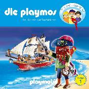 Cover-Bild zu Die Playmos - Das Original Playmobil Hörspiel, Folge 1: Der Schatz der Teufelsinsel (Audio Download) von Fickel, Florian