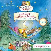 Cover-Bild zu Jetzt wird geschlafen, Freunde! Gutenachtgeschichten mit Tiger und Bär Teil 1 (Audio Download) von Fickel, Florian