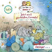 Cover-Bild zu Jetzt wird geschlafen, Freunde! Gutenachtgeschichten mit Tiger und Bär Teil 3 (Audio Download) von Fickel, Florian