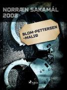 Cover-Bild zu Blom-Pettersen-mali (eBook) von Ymsir Hofundar, Hofundar
