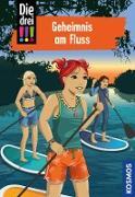 Cover-Bild zu Die drei !!!, 92, Geheimnis am Fluss (drei Ausrufezeichen) (eBook) von Vogel, Kirsten