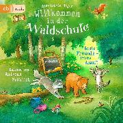 Cover-Bild zu Willkommen in der Waldschule - Beste Freunde - Pfote drauf! (Audio Download) von Heger, Ann-Katrin