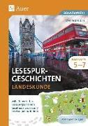 Cover-Bild zu Lesespurgeschichten Englisch Landeskunde 5-7 von Sarrach, Denise