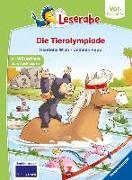 Cover-Bild zu Die Tierolympiade von Wich, Henriette