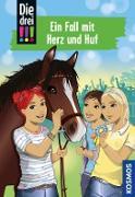 Cover-Bild zu eBook Die drei !!!, 85, Ein Fall mit Herz und Huf (drei Ausrufezeichen)