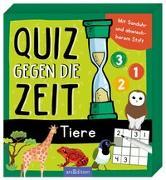 Cover-Bild zu Quiz gegen die Zeit - Tiere von Löwenberg, Ute