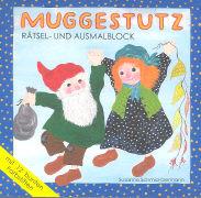 Cover-Bild zu Schmid-Germann, Susanna: Muggestutz Rätsel- und Ausmalblock