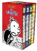 Cover-Bild zu Diary of a Wimpy Kid Box of Books 1-4 Revised von Kinney, Jeff