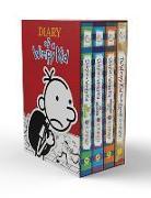 Cover-Bild zu Diary of a Wimpy Kid Box of Books (12-14 Plus Diy) von Kinney, Jeff