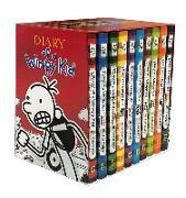 Cover-Bild zu Diary of a Wimpy Kid Box of Books (Books 1-10) von Kinney, Jeff