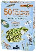 Cover-Bild zu Expedition Natur 50 heimische Tiere & Pflanzen an Bach & Teich