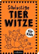 Cover-Bild zu Saulustige Tierwitze von Löwenberg, Ute