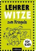 Cover-Bild zu Lehrer-Witze zum Kringeln von Löwenberg, Ute