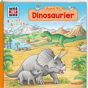 Cover-Bild zu WAS IST WAS Kindergarten Band 18 Dinosaurier von Schreuder, Benjamin