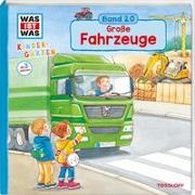 Cover-Bild zu WAS IST WAS Kindergarten Band 20. Große Fahrzeuge von Schreuder, Benjamin