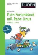 Cover-Bild zu Raab, Dorothee: Mein Ferienblock mit Rabe Linus - Fit für die 1. Klasse