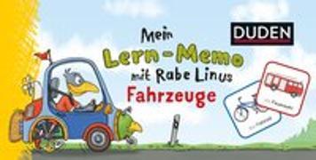 Cover-Bild zu Raab, Dorothee: Mein Lern-Memo mit Rabe Linus - Fahrzeuge