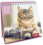Cover-Bild zu Für Katzenfreunde 2021 von Groh Redaktionsteam (Hrsg.)