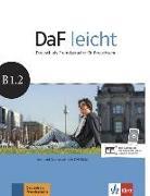 Cover-Bild zu DaF leicht B1.2. Kurs- und Übungsbuch + DVD-ROM von Jentges, Sabine