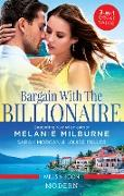 Cover-Bild zu Bargain With The Billionaire/A Virgin for a Vow/Million-Dollar Love-Child/Blackmailed Down the Aisle (eBook) von Morgan, Sarah