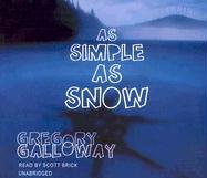 Cover-Bild zu Galloway, Gregory: As Simple as Snow
