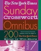 Cover-Bild zu The New York Times Sunday Crossword Omnibus Volume 7: 200 World-Famous Sunday Puzzles from the Pages of the New York Times von Shortz, Will (Hrsg.)