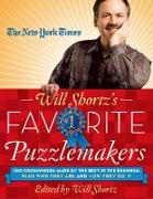 Cover-Bild zu The New York Times Will Shortz's Favorite Puzzlemakers: 100 Crosswords Made by the Best in the Business; Plus Who They Are and How They Do It von New York Times