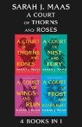 Cover-Bild zu A Court of Thorns and Roses eBook Bundle (eBook) von Maas, Sarah J.