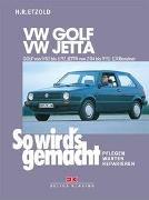 Cover-Bild zu Etzold, Hans-Rüdiger: VW GOLF II von 9/83 bis 6/92, VW JETTA II von 2/84 bis 9/91