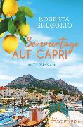 Cover-Bild zu Sommertage auf Capri (eBook) von Gregorio, Roberta