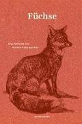 Cover-Bild zu Füchse von Schumacher, Katrin