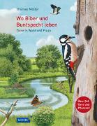 Cover-Bild zu Wo Biber und Buntspecht leben von Müller, Thomas