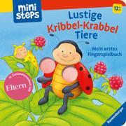 Cover-Bild zu Lustige Kribbel-Krabbel Tiere von Grimm, Sandra