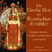 Cover-Bild zu Die große Hörbuch Box der russischen Erzähler (Audio Download) von Tolstoi, Leo