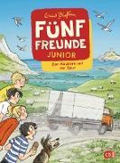 Cover-Bild zu Fünf Freunde JUNIOR - Den Räubern auf der Spur (eBook) von Blyton, Enid
