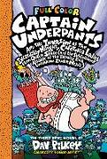 Cover-Bild zu Captain Underpants and the Invasion of the Incredibly Naughty Cafeteria Ladies from Outer Space: Color Edition (Captain Underpants #3) von Pilkey, Dav