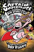 Cover-Bild zu Captain Underpants and the Sensational Saga of Sir Stinks-A-Lot (Captain Underpants #12) von Pilkey, Dav