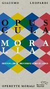 Cover-Bild zu Opuscula moralia von Leopardi, Giacomo