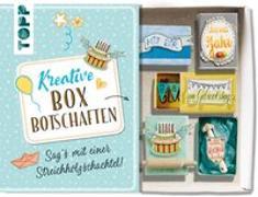 Cover-Bild zu Wicke, Susanne: Kreative Boxbotschaften. Sag's mit einer Streichholzschachtel