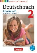 Cover-Bild zu Fingerhut, Armin: Deutschbuch Gymnasium, Baden-Württemberg - Bildungsplan 2016, Band 2: 6. Schuljahr, Arbeitsheft mit interaktiven Übungen auf scook.de, Mit Lösungen