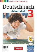 Cover-Bild zu Fingerhut, Armin: Deutschbuch Gymnasium, Baden-Württemberg - Ausgabe 2012, Band 3: 7. Schuljahr, Arbeitsheft mit Lösungen und Übungs-CD-ROM