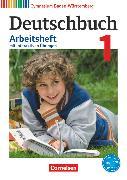 Cover-Bild zu Diehm, Jan: Deutschbuch Gymnasium, Baden-Württemberg - Bildungsplan 2016, Band 1: 5. Schuljahr, Arbeitsheft mit interaktiven Übungen auf scook.de, Mit Lösungen