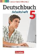 Cover-Bild zu Fingerhut, Armin: Deutschbuch Gymnasium, Baden-Württemberg - Bildungsplan 2016, Band 5: 9. Schuljahr, Arbeitsheft mit Lösungen