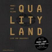 Cover-Bild zu Kling, Marc-Uwe: QualityLand (dunkle Edition)