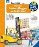 Cover-Bild zu Erne, Andrea: Alles über Laster, Bagger und Traktoren