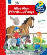Cover-Bild zu Erne, Andrea: Alles über Pferde und Ponys