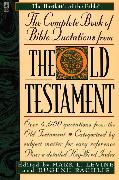 Cover-Bild zu Levine, Mark L.: The Complete Book of Bible Quotations from the Old Testament