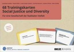 Cover-Bild zu 68 Trainingskarten Social Justice und Diversity von Czollek, Jonathan