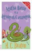 Cover-Bild zu Agatha Raisin és a kígyónyelvu asszonyok (eBook) von Beaton, M. C.